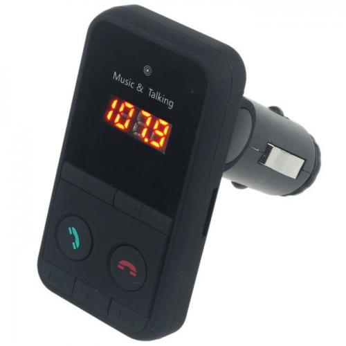 FM Transmitter USB/SD en bluetooth